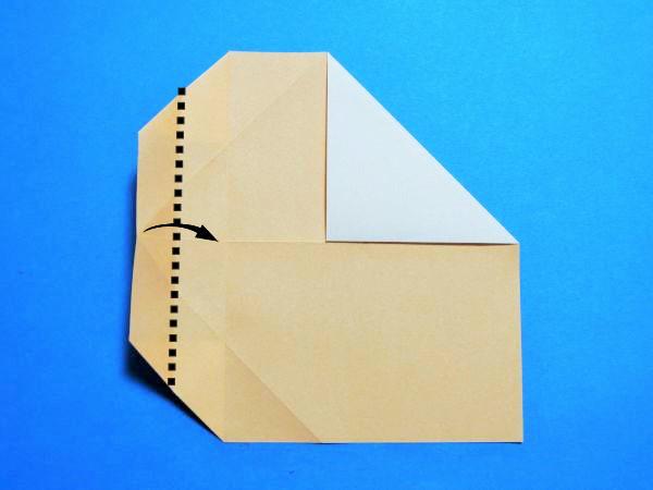 折り紙で作るかわいいハートタイプの箸袋の折り方・作り方