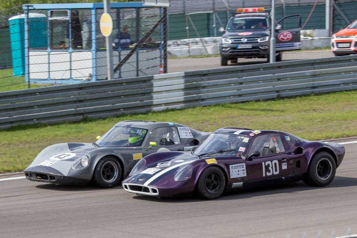 Oldtimer Grand Prix 2017 FIA Masters Historic Sports Car Championship