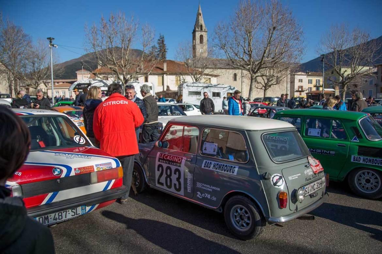 Saint-André-les-Alpes · Étape de concentration · 19. Rallye Monte-Carlo Historique 2016 · 30.01.2016, 12:16 Uhr