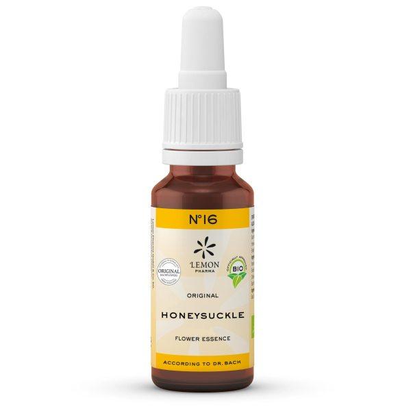 Lemon Pharma Original Bachblüten Tropfen Nr 16 Honeysuckle Geissblatt Gegenwärtigkeit