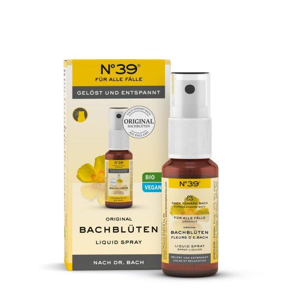 Liquid Spray 39 Für alle Fälle Lemon Pharma Original Bachblüten bach flower gelöst und entspannt
