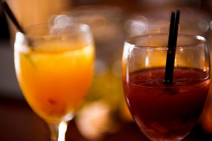 赤ワインで自家製サングリア おうちカフェでホームパーティーしよ♪005