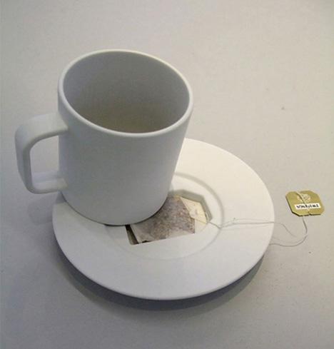 紅茶好きのためのマグカップ&ソーサーセット
