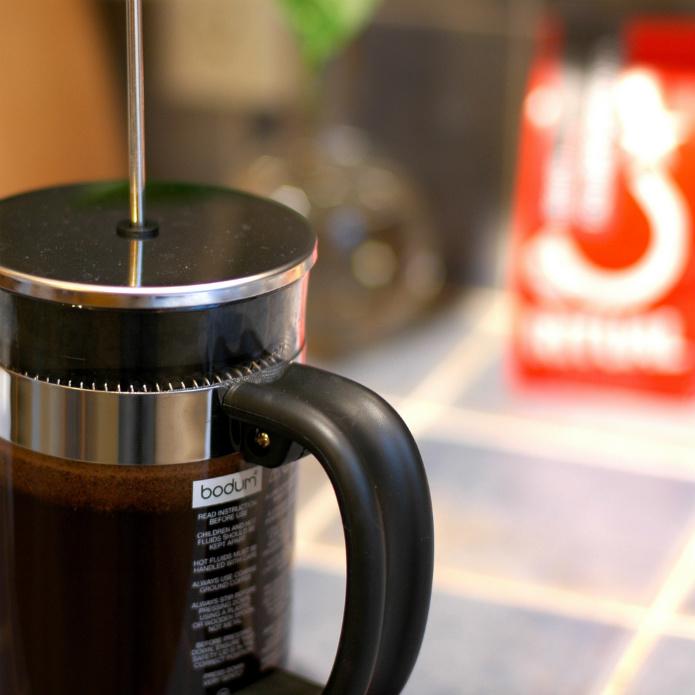 フレンチプレス(コーヒープレス)で一味違ったコーヒーはいかが?bodum02