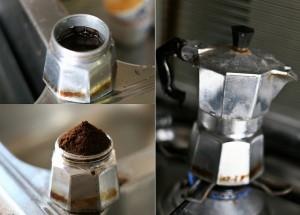 マキネッタで入れたコーヒーが粉っぽい001
