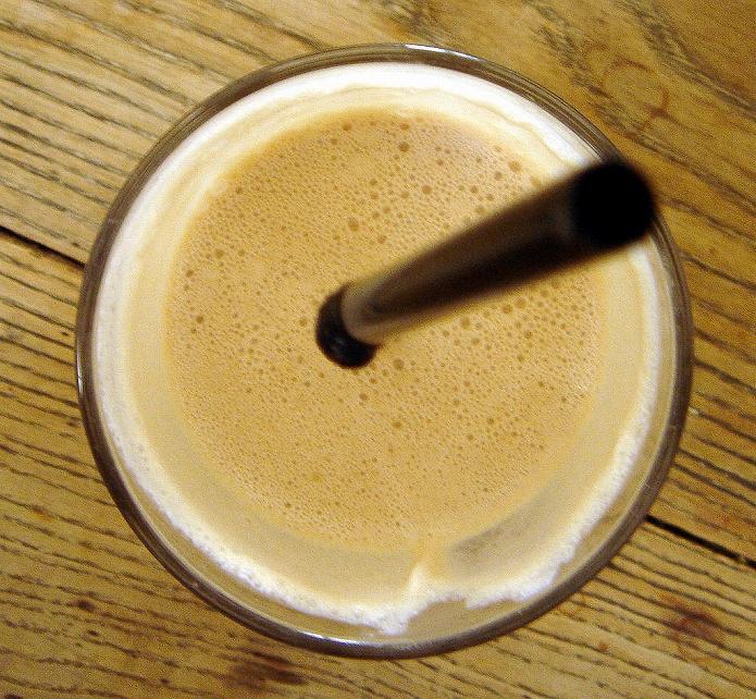 ラムレーズンとカフェラテがおいしい!おうちで簡単なカフェレシピ002