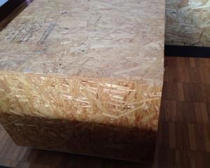 OSBで本棚・収納付きコーヒーテーブルをDIY 組み立て・作り方・仕上げ006
