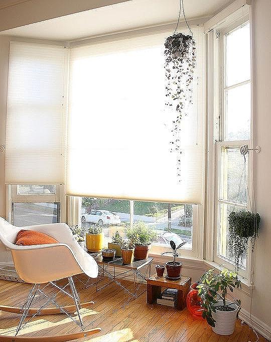 吹き抜けや窓際に観葉植物を置くとおしゃれになる
