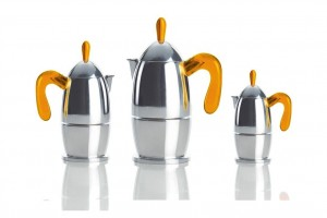 guzzini ART & CAFÉ エスプレッソメーカー オレンジ