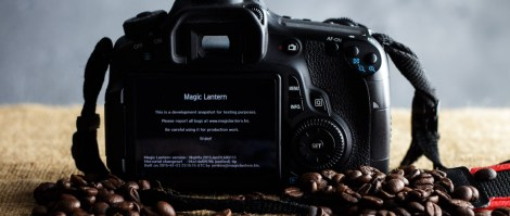 Magic Lantern on Canon 60d
