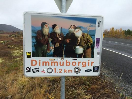Foto Dimmu Borgir Islanda di Elena Fornai