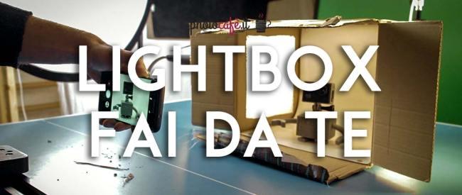 Lightbox foto fai da te – costruiamola in pochi minuti