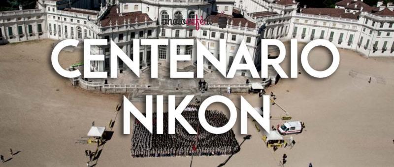 Nikon festeggia 100 anni con un Guinness World Record