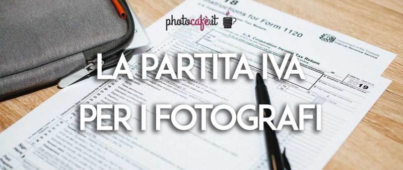 La partita IVA per i fotografi