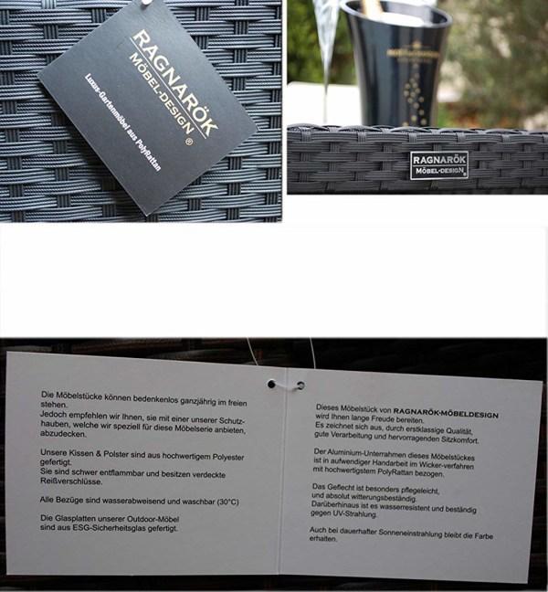 Esstisch Set Heimdall - 6+4 ssw - Marke & USP