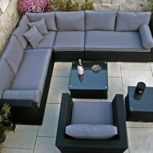 Lounge Sofa Wotan - sg - Aufnahme von oben
