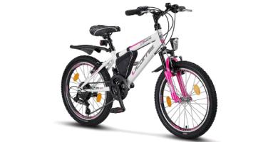 Licorne Bike Premium - Bicicleta de montaña para niña