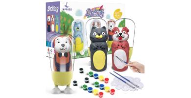 Pintura kit Colorear para Niños Figuras de Yeso de Animales