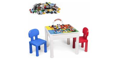LADUO Juegos de Mesa y sillas niños