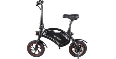 Windgoo Bicicleta Eléctrica 36V Plegable urbana
