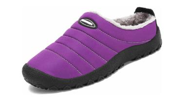 Zapatos de Casa con Forro de Piel - Cálidas y Cómodas - con Suela Antideslizante
