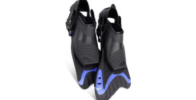 Pasa el ratón por encima de la imagen para ampliarla Khroom Aletas de natación cortas para adultos para entrenamiento