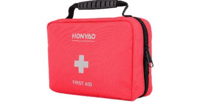 HONYAO Botiquín de Primeros Auxilios, Mini Kit de Supervivencia
