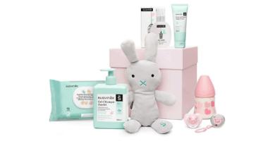 Suavinex - Canastilla de regalo baby shower para recién nacido
