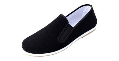 Andux TJX-01 - Zapatillas unisex negras para artes marciales, Kung Fu, Tai Chi, con suela de Dichotomanthes
