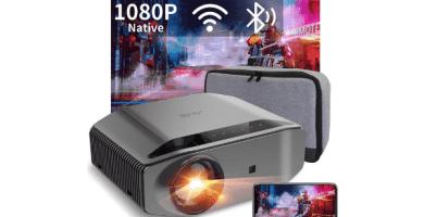 Proyector WiFi Bluetooth 8000 Lúmenes, Artlii Energon2
