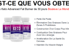 Keto Advanced Fat Burner - Revue