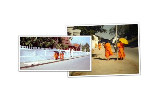 Luang Prabang - Mönche