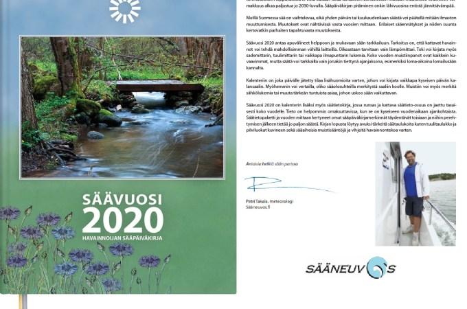 Säävuosi 2020 – Monipuolisin sääpäiväkirja