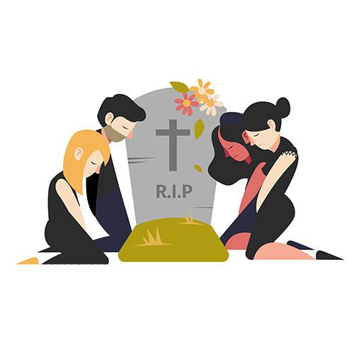 soñar con funeral