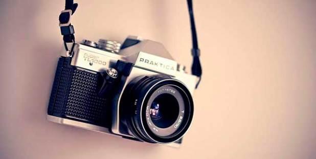 Soñar con una cámara de fotos