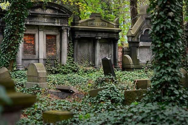 Soñar con un cementerio abandonado