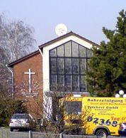 schüssel auf kirche