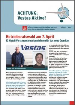 Vestas Infoblatt Februar 2014