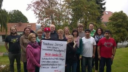 Solidarität von Kollegen der ver.di aus Hannover