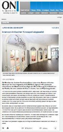 Zum Artikel der Ostfriesischen Nachrichten vom 14.01.2015 Lokales