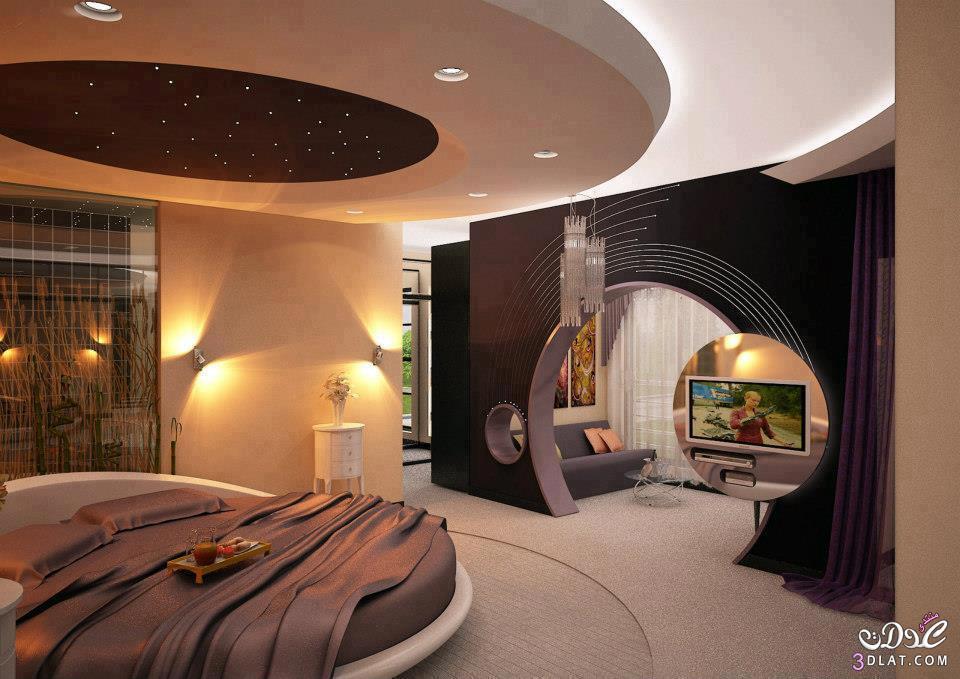 غرف النوم بألوان مميزه وشيك منها اللون البيج والاسود