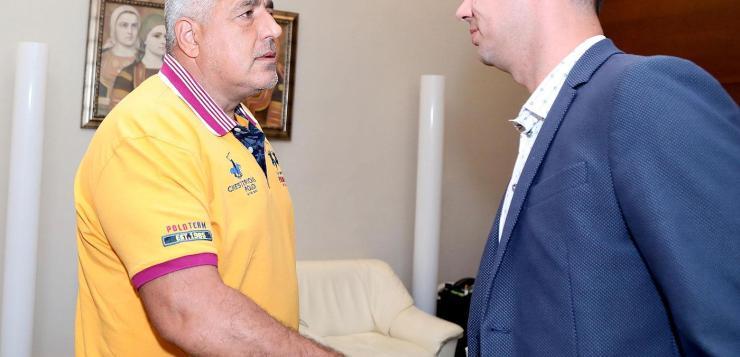 """Премиерът Борисов разговаря с ръководството на """"Арда"""" (Кърджали)"""
