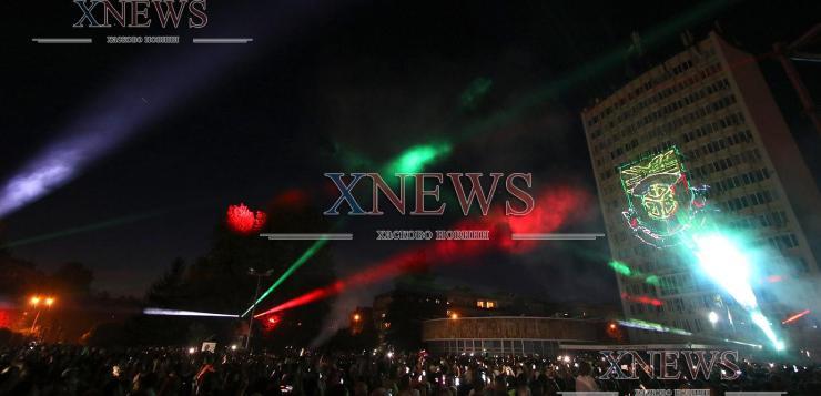 """Уникално лазерно шоу и """"Фондацията"""" на празника на Димитровград"""