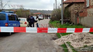 Разследват убийство в Александрово (ВИДЕО)