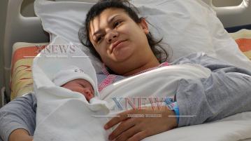 Виктор е първото бебе в Хасково за 2020-а