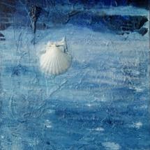 Camiño da Estrela (Oil & Mixed Media on Canvas . 76 x 50 cm)