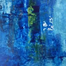 Nesse mar ninguem se banha (Acrylic on paper 29x23)