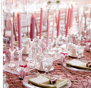 Pink Table Lighting