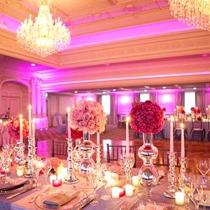 Elegant Rose Centerpieces