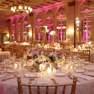 Lush Reception Tables